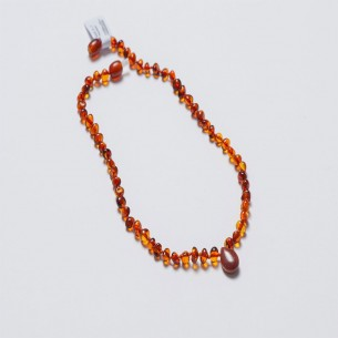 Amber Baby Teething Necklace CNA016
