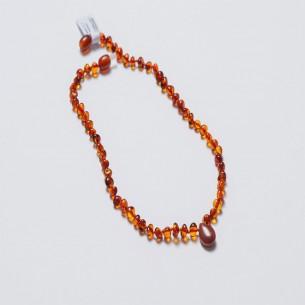 Bernstein Baby Kinderkrankheiten Halskette CNA016