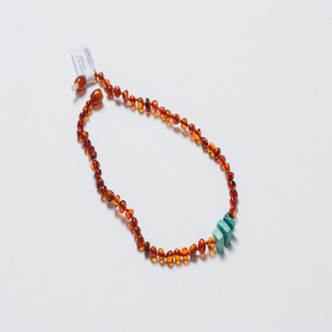 Amber Baby Teething Necklace CNA017