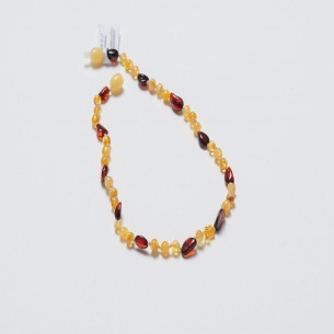 Amber Baby Teething Necklace CNA018