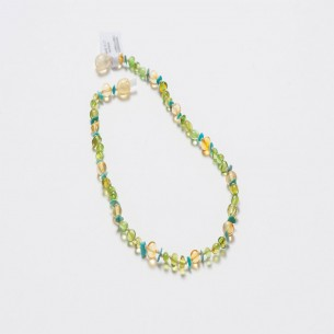 Bernstein Baby Kinderkrankheiten Halskette CNA020