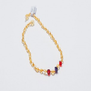 Amber Baby Teething Necklace CNA021