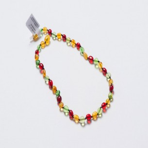 Amber Baby Teething Necklace CNA022