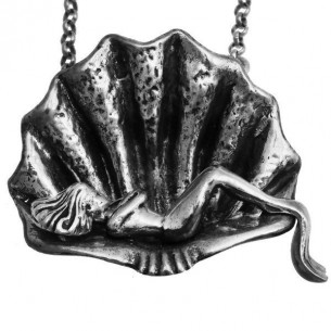 Sea Shell Necklace in Sterling Silver