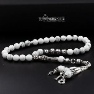 Howlit Gebetskette Tesbih Mit Name aus 925er Silber