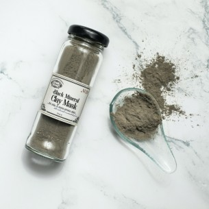 Black Mineral Clay Mask (75 gr.)