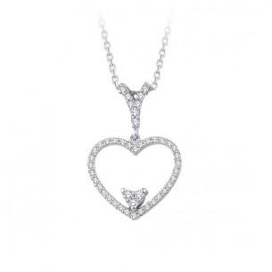 0.20 Ct. Heart Diamond...