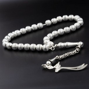 925 Sterling Silver Prayer Beads