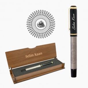 Besmele Kugelschreiber Schreibset Gravur in Geschenkbox