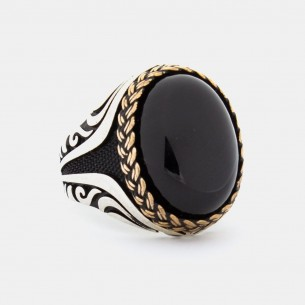 Onyx Stone Handmade 925 Sterling Silver Ring