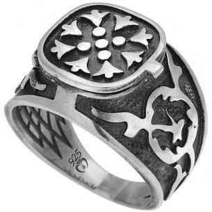 Siegelring aus 925 Silber