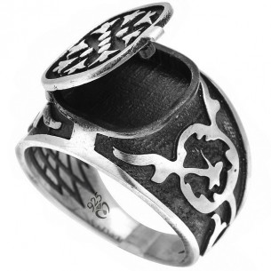 Crazy Heart Series Official 925s Silver Ring