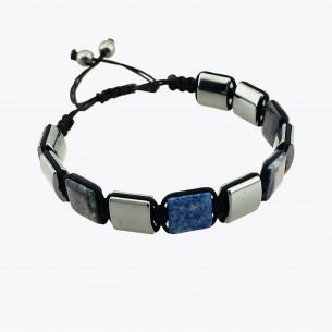 Hematite Stone Men's Bracelet