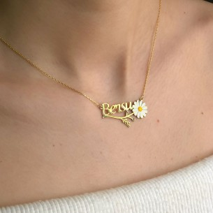 Name 925s Silver Necklace