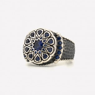 Blue Stone Handmade 925...