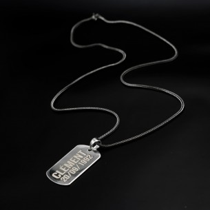 Name Necklace in 925 Sterling Silver
