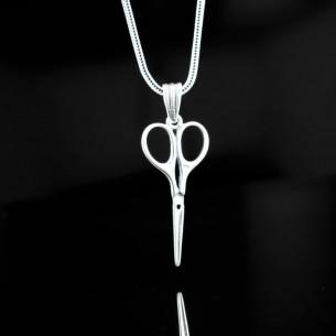Scissors Motif 925 Sterling...
