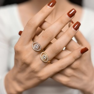 Zirkonstein 925 Sterling Silber Ring