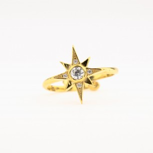 Pole Star 925 Sterling Silver Ring