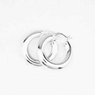 925 Sterling Silber Creolen