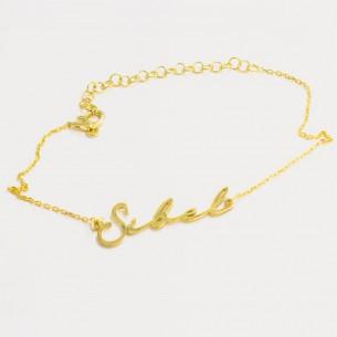 Name Bracelet in 925...