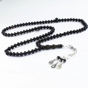 99luk Abanoz Tesbih - Gebetskette aus 925er Silber