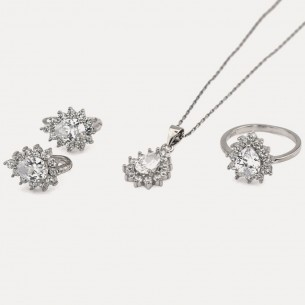 Jewelry Set: Necklace Ring...
