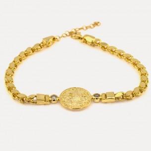 Armband aus 925er Sterlingsilber mit Tugra