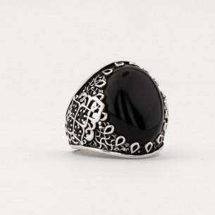 Black Onyx Stone Handmade...