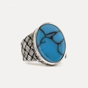 Men's Ring in 925s Silver...