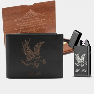 Personalized Leather Wallet...