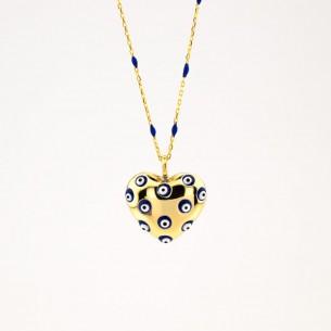 Evil Eye 925 Sterling Silber Halskette