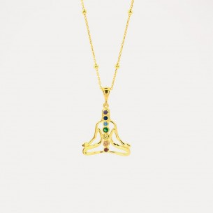 Chakra Model 925 Sterling Silver Necklace