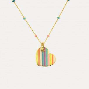 Herz 925 Sterling Silber Halskette