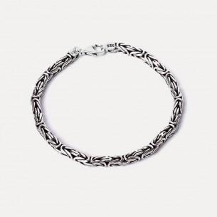 925 Sterling Silver King Chain Bracelet 6mm