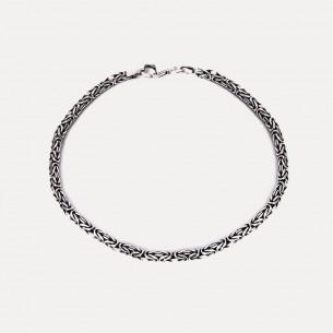 925 Sterling Silver King Chain Bracelet 4,5mm