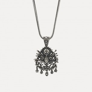 Arma Necklace in 925 Sterling Silver