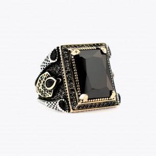 Onyx Stone Handmade 925 Sterling Silver Ring