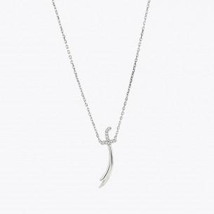 Halskette mit Schwertmotiv...