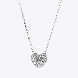 Love 925 Sterling Silver Necklace