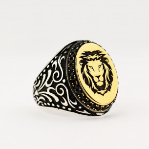 925 Sterling Silver Lion...