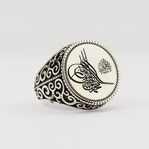 Ottoman Tugra 925s Silver...