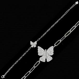 Butterfly Bracelet In...