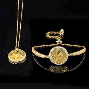 Ottoman Tugra Jewelry Set