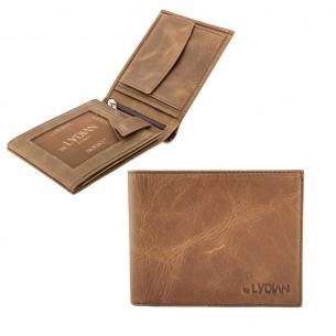 Brown Genuine Leather Wallet