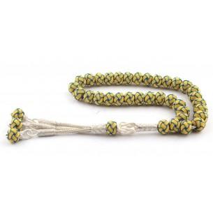Hand Made Kazaz Silver Prayer Beads