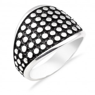 Mens Ring in Sterling Silver