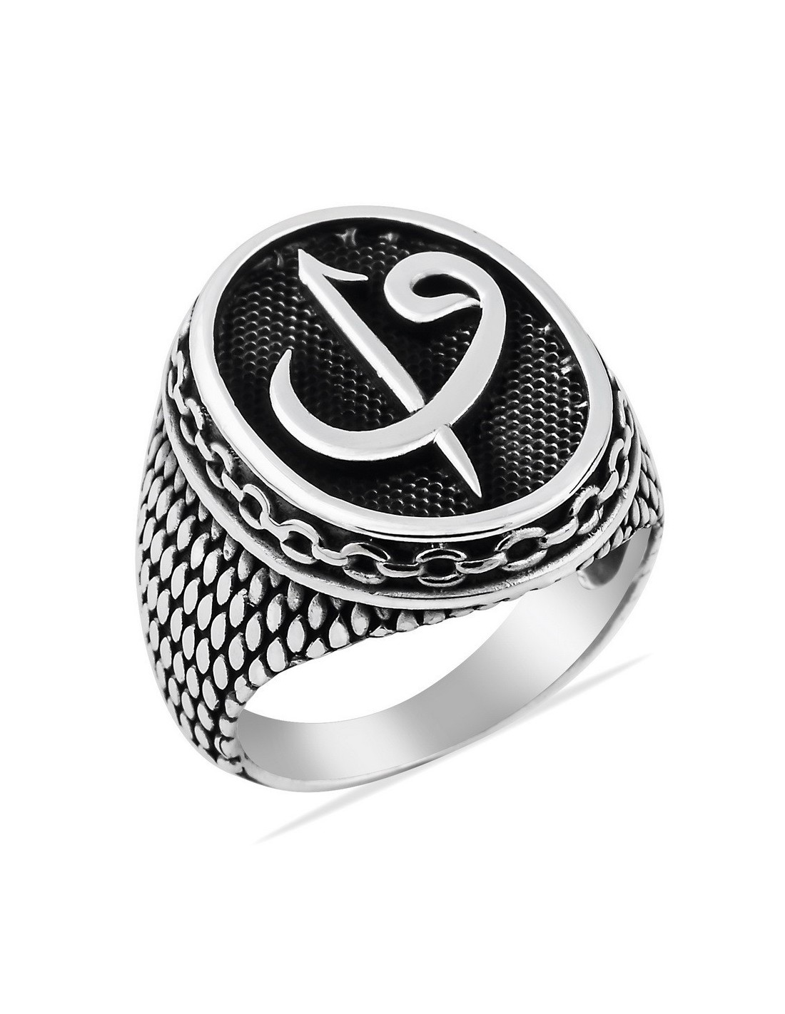 mens ring in sterling silver from turkstyleshop