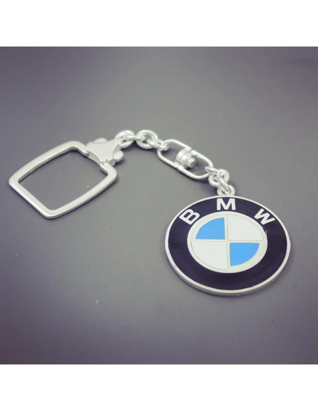 BMW Keychain In Sterling Silver