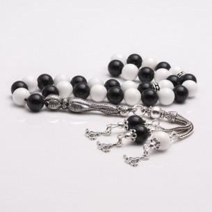 Besiktas  Sterling Silver Prayer Beads